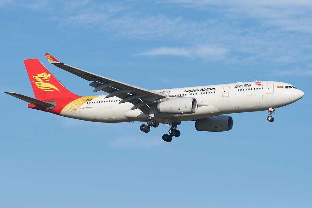 Capital Airlines retoma voos de ligação entre Portugal e China